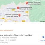 Exemple de fiche Google Business